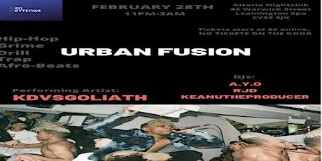 Urban Fusion - Hip Hop, Rap, Afrobeats, Trap, Drill, Grime Music ALL NIGHT tickets