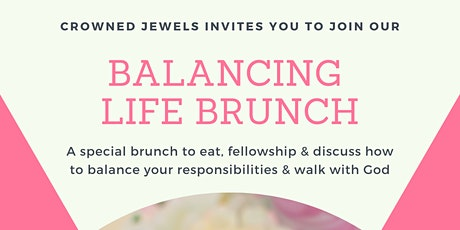 Learning To Balance Life Brunch tickets