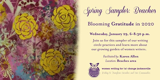 Spring Sampler: Blooming (Beaches area)