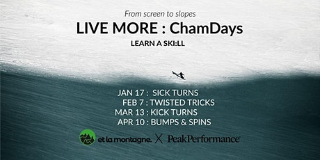 LIVE MORE : ChamDays tickets