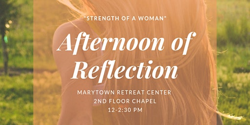 Catholic Women's Afternoon of Reflection