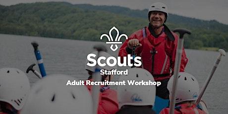 Stafford - Adult Recruitment Workshop tickets