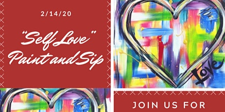 Valentines Day Self Love Paint and Sip tickets