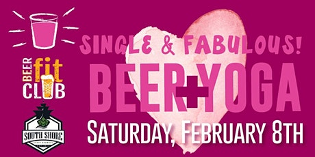 Single & Fabulous Beer + Yoga tickets