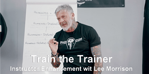 Train the Trainer: Instructor Enhancement Seminar with Lee Morrison