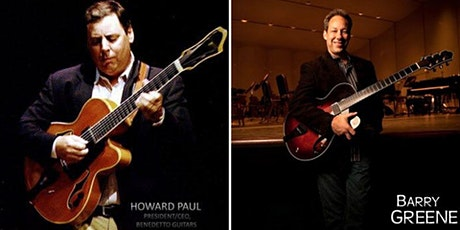 Howard Paul and Barry Greene - Jazz Guitar Duo tickets