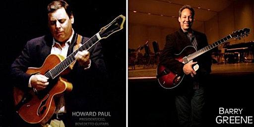 Howard Paul and Barry Greene - Jazz Guitar Duo