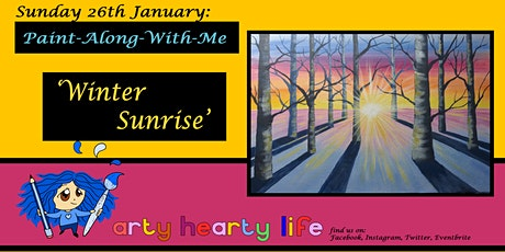 'Winter Sunrise' Paint-Along-With-Me @ YourSpace.Sutton  tickets