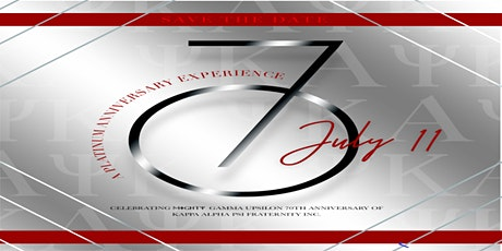 Platinum Anniversary Experience : Gamma Upsilon at 70 tickets