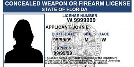 Concealed Carry Class -Minimum Standards CCW-100 tickets