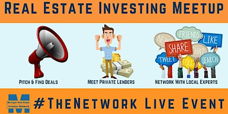 Live Meeting -  Michigan Real Estate Investor Network | #TheNetwork - FREE tickets