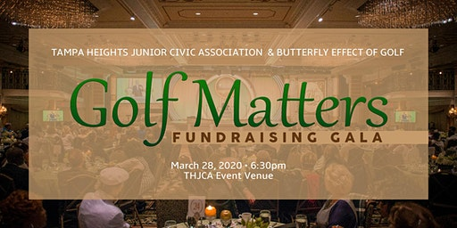 Golf Matters Fundraiser Hosted By THJCA & Butterfly Effect of Golf, Inc