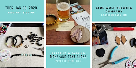 Make-and-Take Earring and Bracelet Class tickets