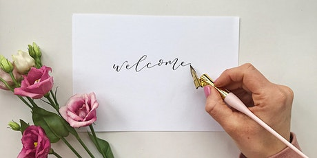 Beginners Dip pen Calligraphy workshop with Rosie Somerset Lettering tickets