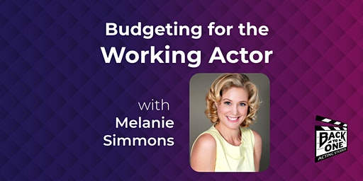 Budgeting for the Working Actor