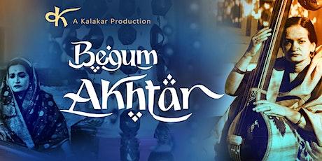 Akhtari - The Musical tickets