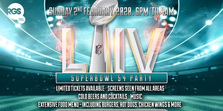 Super Bowl 54 Party in London tickets