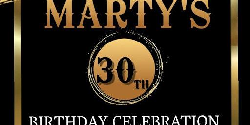 ALL BLACK AFFAIR - Marty's 30th Birthday Celebration
