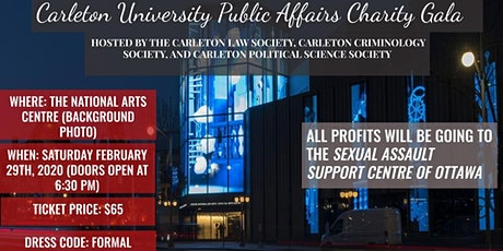 Carleton University Public Affairs Charity Gala tickets