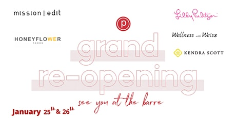 Pure Barre Bethesda 6th Birthday Party and Grand Re-Opening Celebration tickets
