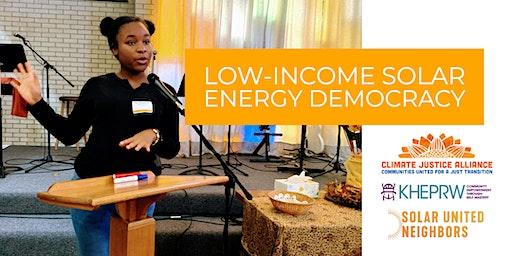 Low-Income Solar: Energy Democracy