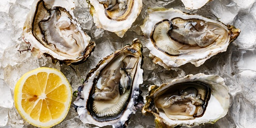 Champagne and Oyster Tasting  at Aurora Cooks! 8:00 pm
