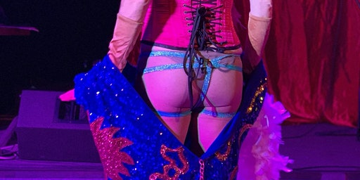 World's Smallest Burlesque Show! Live in Katt's Closet!