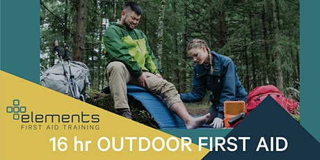 16 hr Outdoor First Aid tickets