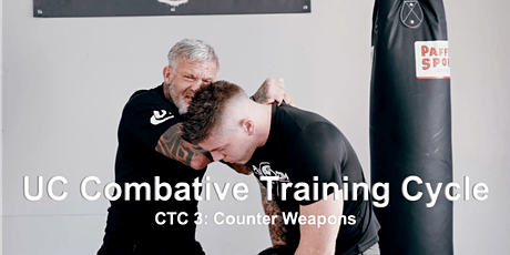 UC Combative Training Cycle CTC 3: Counter Weapons tickets