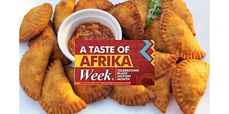 A Taste of Africa Week tickets