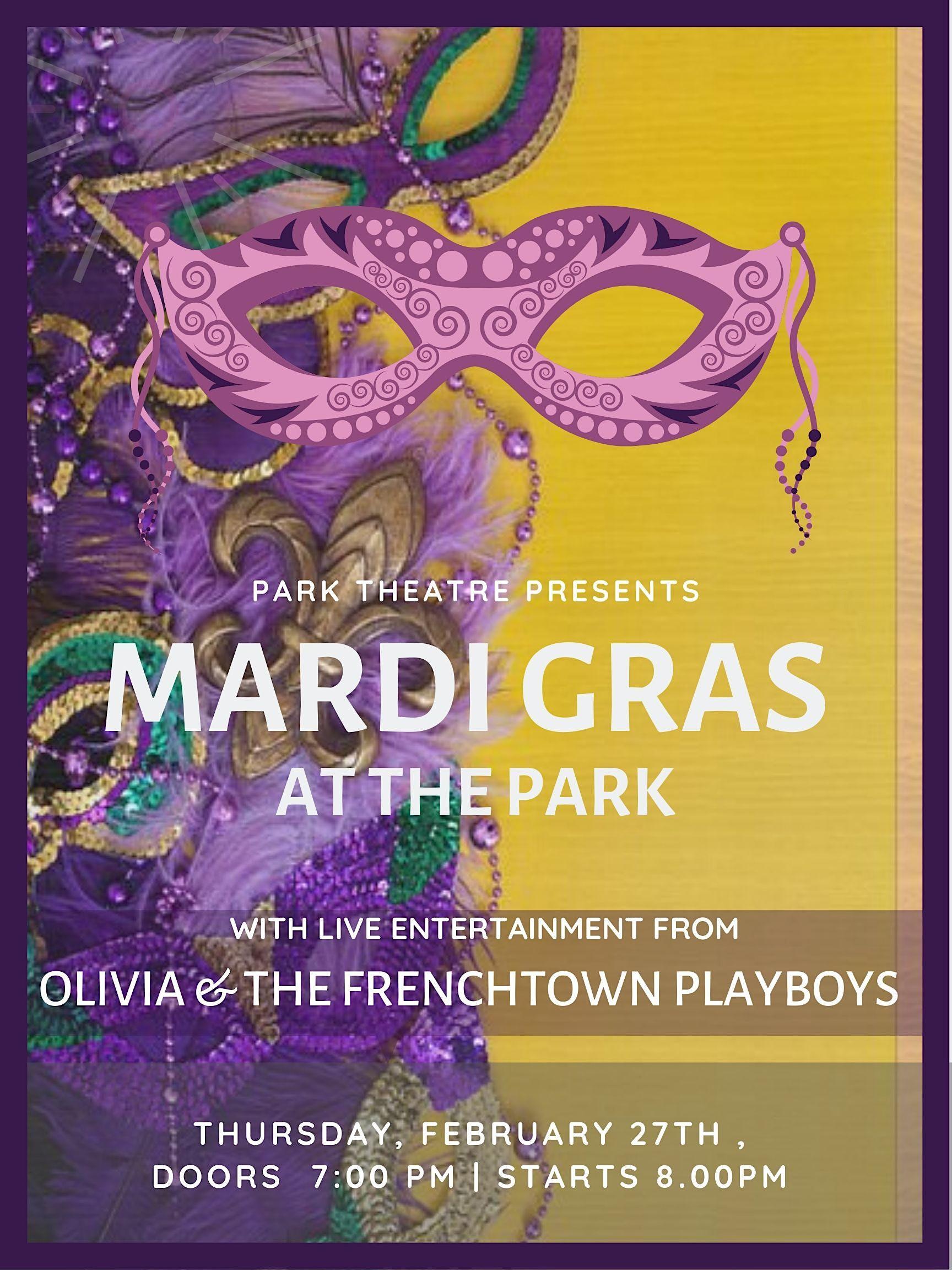 Mardi Gras at the Park!