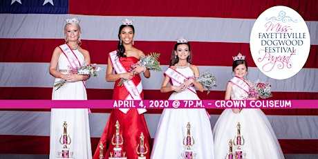 The 23rd Annual Miss Fayetteville Dogwood Festival Pageant tickets