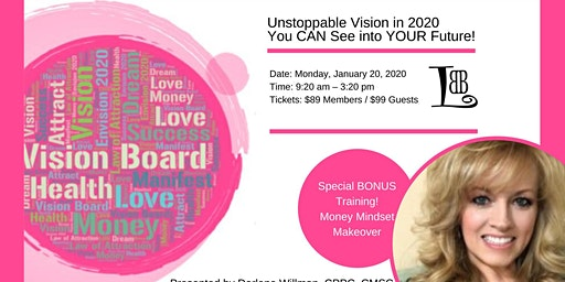 Unstoppable Vision: Vision Board Workshop and Coaching Session