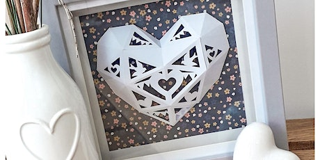 Kirigami Hearts Paper Cutting Workshop tickets