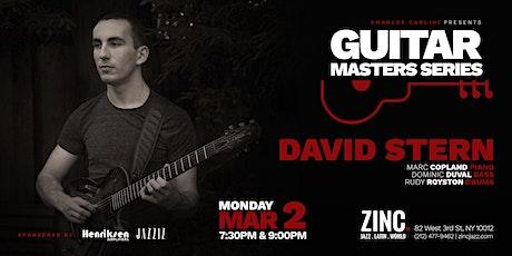 Guitar Masters Series: David Stern tickets
