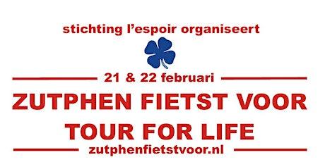 Zutphen Fiets Voor Tour for Life tickets
