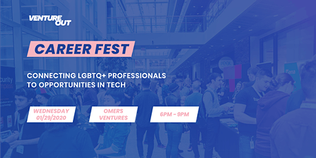 Venture Out Career Fest 2020 - Connecting LGBTQIA2S+ Folks to Jobs in Tech tickets
