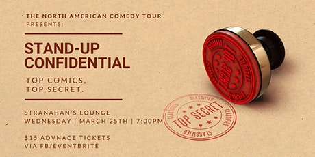 Stand-Up Confidential at Stranahan's Lounge tickets