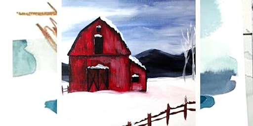 Barn Paint and Sip art class in Chehalis