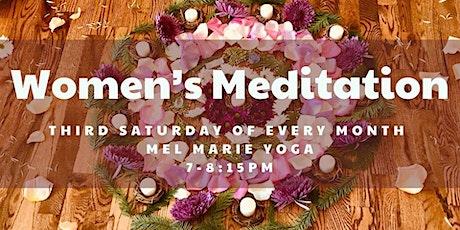Women's Meditation Tickets