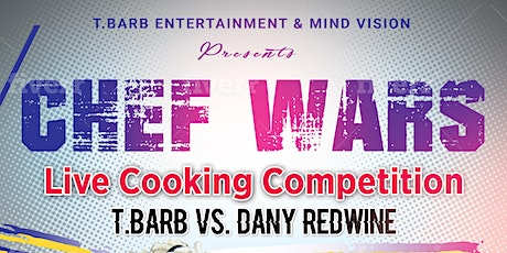 Chef Wars Live Cooking Show: Battle Carribean. Vegan Vs. Everybody tickets