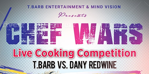 Chef Wars Live Cooking Show: Battle Carribean. Vegan Vs. Everybody