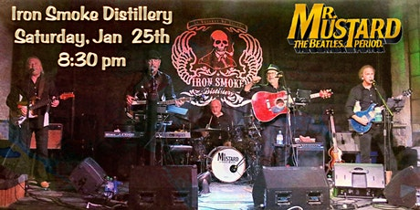 Mr. Mustard presents the No 1 hits of The Beatles_Sat Jan 25th tickets