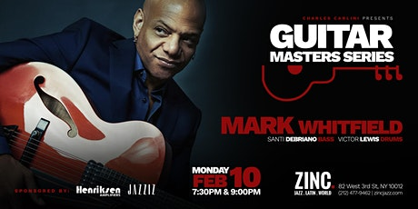 Guitar Masters Series: Mark Whitfield tickets