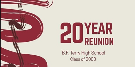 B.F. Terry HS Class of 2000, 20th Year Reunion tickets