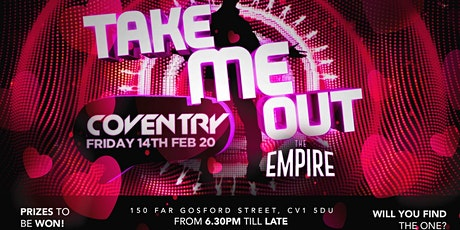 Take me out Coventry tickets