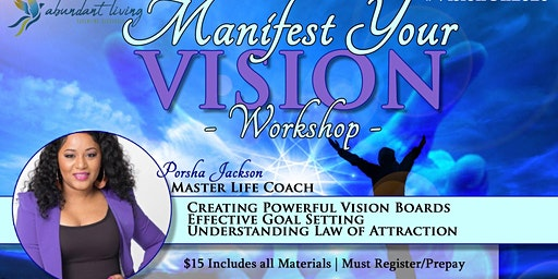 Manifest Your Vision 2020