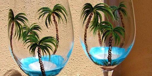 Pour & Paint Wine Glasses