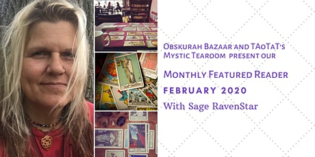 February's Featured Reader; Sage RavenStar tickets