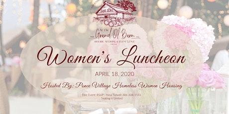 Women's Luncheon - April 18, 2020 tickets